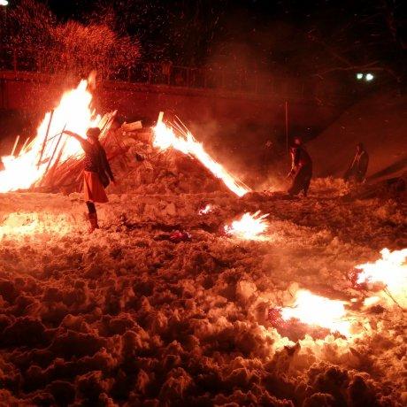 Kakunodate Fire and Snow Festival