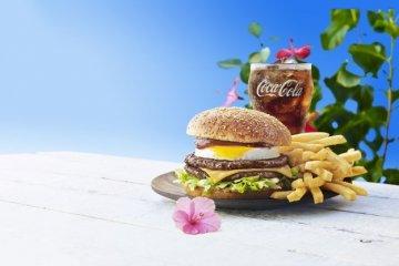 Гавайские дни в японском МакДональдсе
