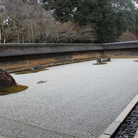 Kyoto's Ryoan-ji Temple
