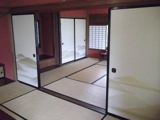 Căn phòng Nhật Bản lát chiếu tatami thanh lịch