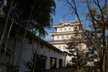 <p>Oshi Castle, just a short distance from Sakitama&nbsp;Kofun Park (samurai cosplayers&nbsp;not shown)</p>