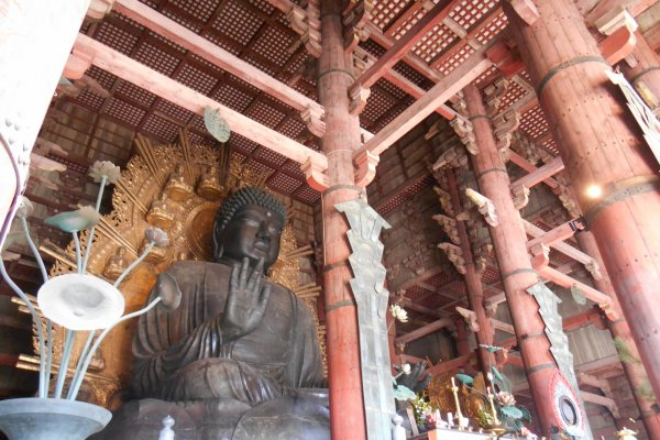 The Todaiji Daibutsu