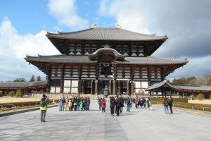 Entrance of the Todaiji