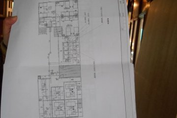<p>The plans of the future guesthouse in Asuka</p>