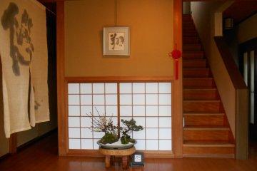 <p>Inside a minpaku in Asuka</p>