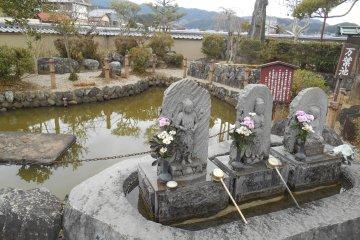 <p>Asuka-dera garden</p>