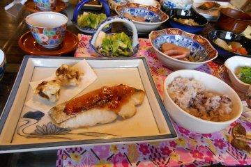 <p>The fabulous food of Chari Chari restaurant</p>