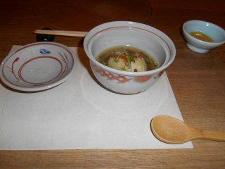 Kaiseki dishes