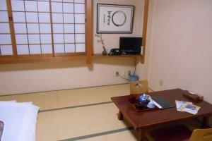 A room of Matsumae Ryokan