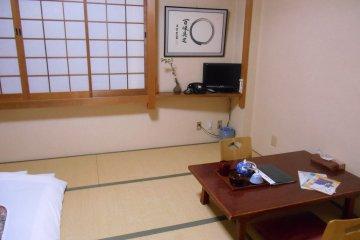 <p>A room of Matsumae Ryokan</p>