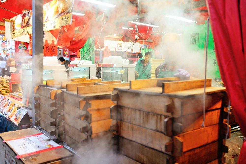 Un nuage de vapeur à l'odeur délicieuse