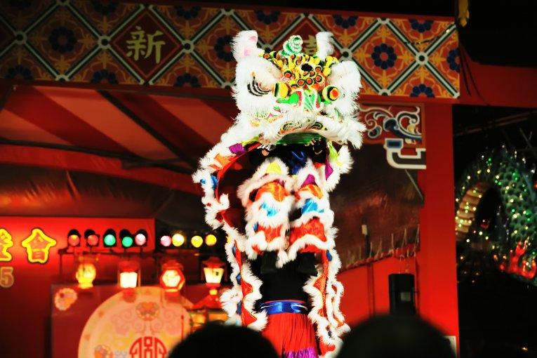 Танец китайского льва