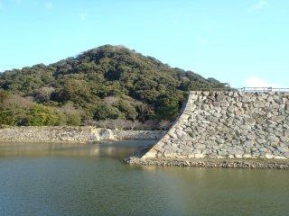 Les ruines du château de Hagi