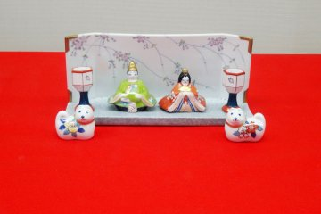 Выставка кукол Хина в Имари