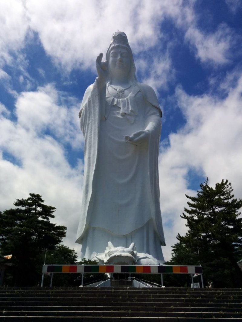 <p>The Sendai Kannon&nbsp;is one of the Top 10 highest mountains in Japan</p>