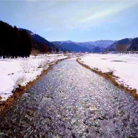 Snow Melt Heralds Spring in Fukui