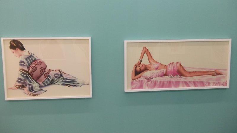 <p>Paintings by Harumi Yamaguchi</p>