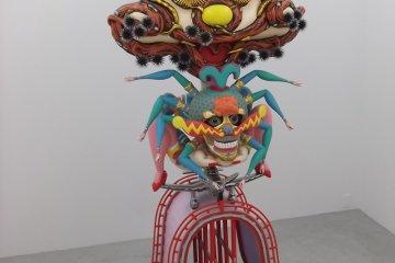 <p>Sculpture by Keiichi&nbsp;Tanaami</p>