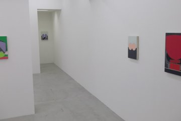 <p>Subtle, minimal paintings by Frank Nitsche</p>