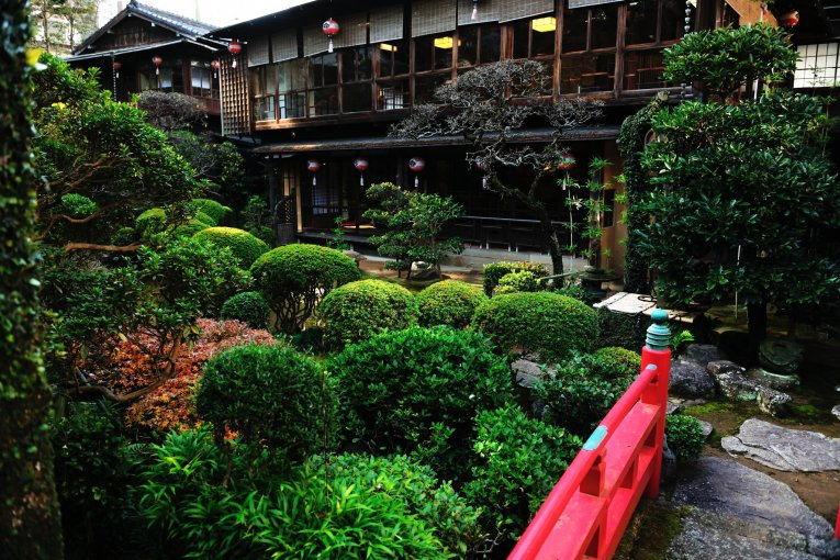 Khu vườn Kagetsu Sansui đáng yêu
