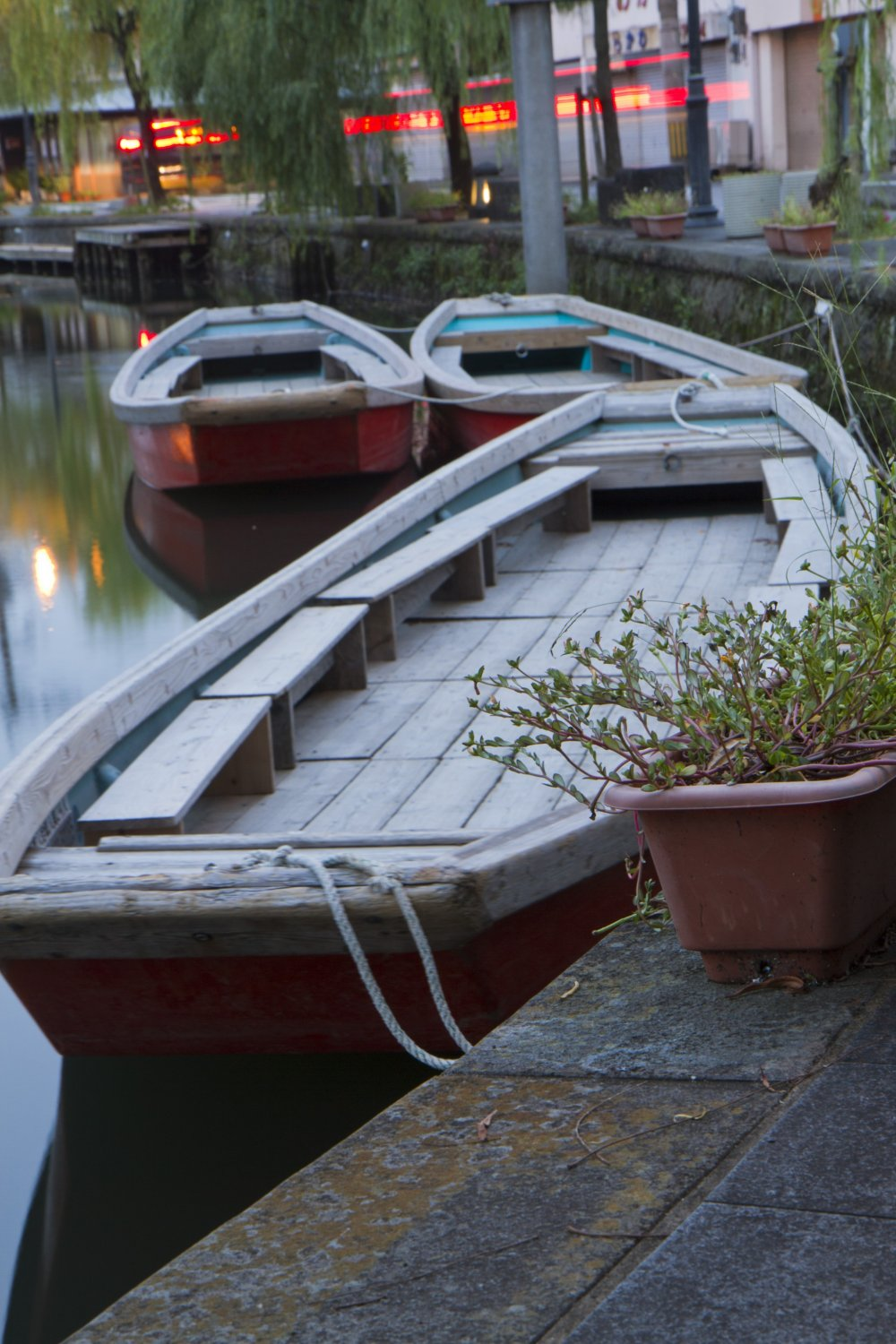 Donkobune, the canal boats of Yanagawa