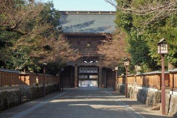 Kumamoto City's Kengun Jinja
