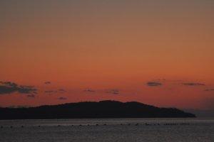 The sunset at Ohara.