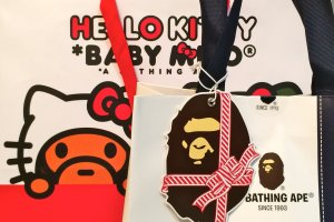 Your purchase at A Bathing Ape store might just come packaged like this!