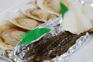 <p>Seafood BBQ</p>