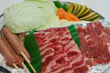 <p>Japanese Style BBQ</p>