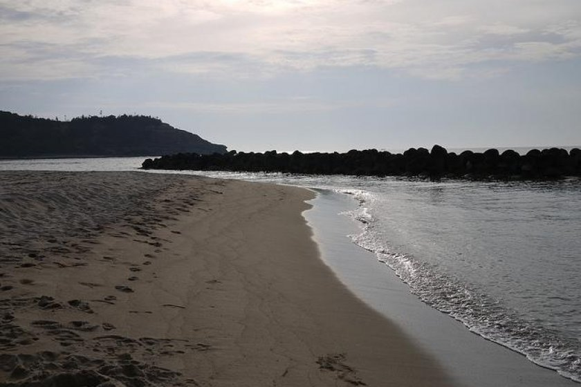 Iwami Seaside Park beach