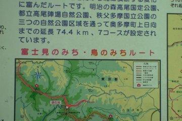 Fuji Trail Map