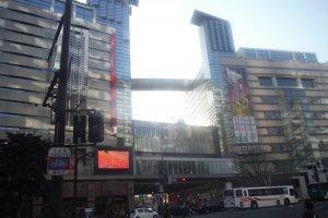 ห้าง Solaria ใกล้สถานี TENJIN