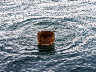 Mereka menghilang dalam sekejap di bawah permukaan air