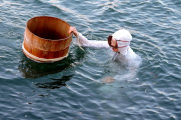 Pearl Divers at Mikimoto Island