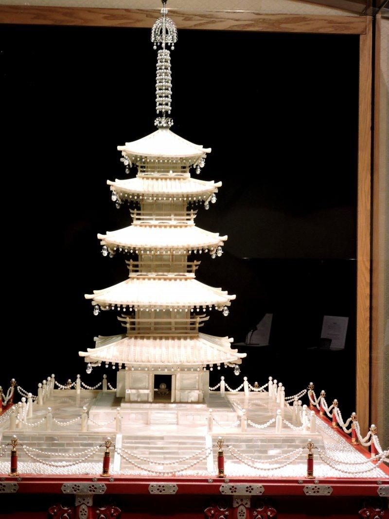 <p>Pearl pagoda</p>