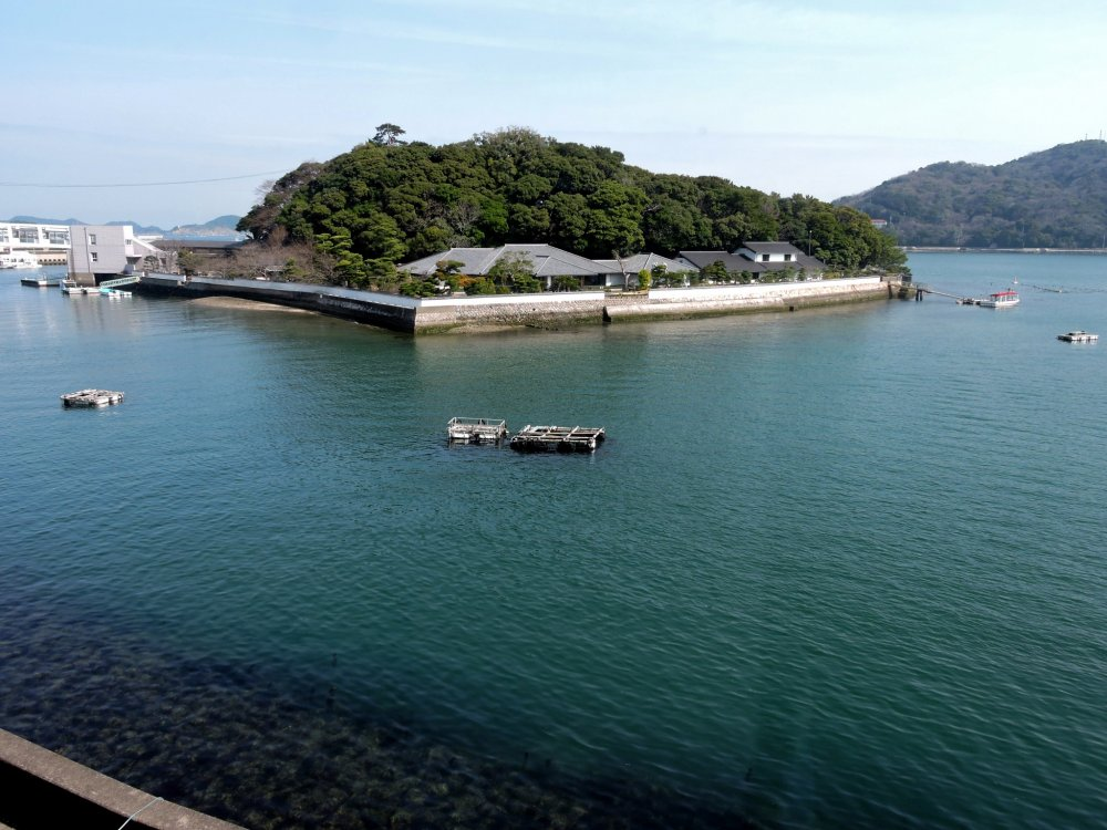 View of Mikimoto Pearl Island from nearby