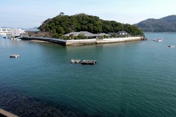<p>View of Mikimoto Pearl Island from nearby</p>