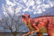 Lễ hội hoa anh đào ở vương quốc khủng Long