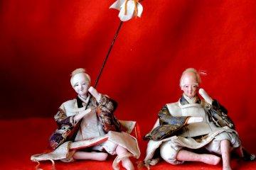 <p>A couple of drunken samurai</p>