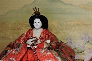 An Empress Hina doll