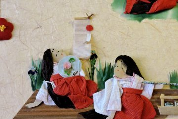 <p>An adorable paper-craft picture</p>