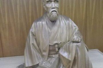 The statue of Issey Hatakeyama