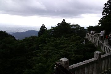 <p>The view from Afuri Jinja</p>