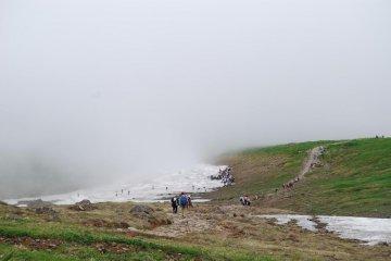 Enshrouded in fog