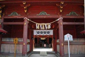 Main gate at Rokusho