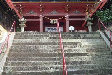 The famous steps of Rokusho