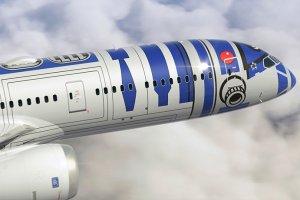 비행 중인 R2-D2