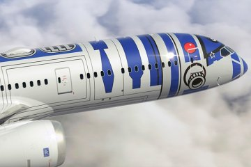 ANA, 스타워즈 R2-D2 제트 출시