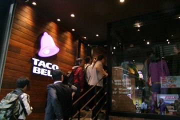 <p>Taco Bell has returned after several decades</p>